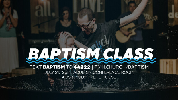 Baptism Classes (Dillsburg Campus)