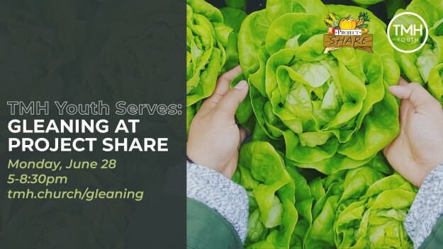 TMH Youth Gleaning at Project SHARE